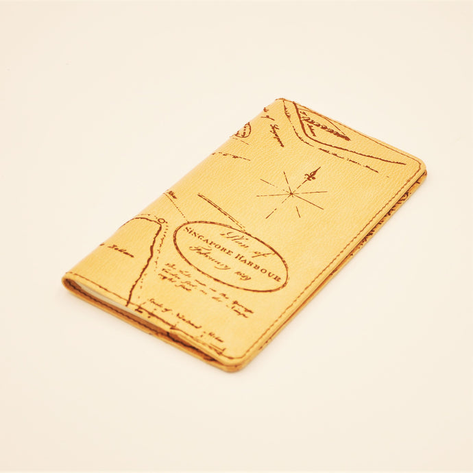 RAFFLES 1819 DL Traveller's Notebook Sleeve ( SG Bicentennial Limited Edition )
