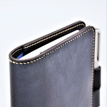 ROHE A6-P Leather Notebook Sleeve with Lock