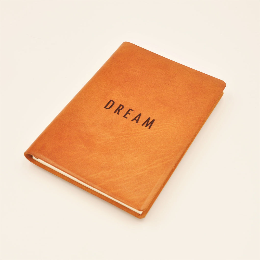 ACADEMY A5-P Journal, DREAM, Tan