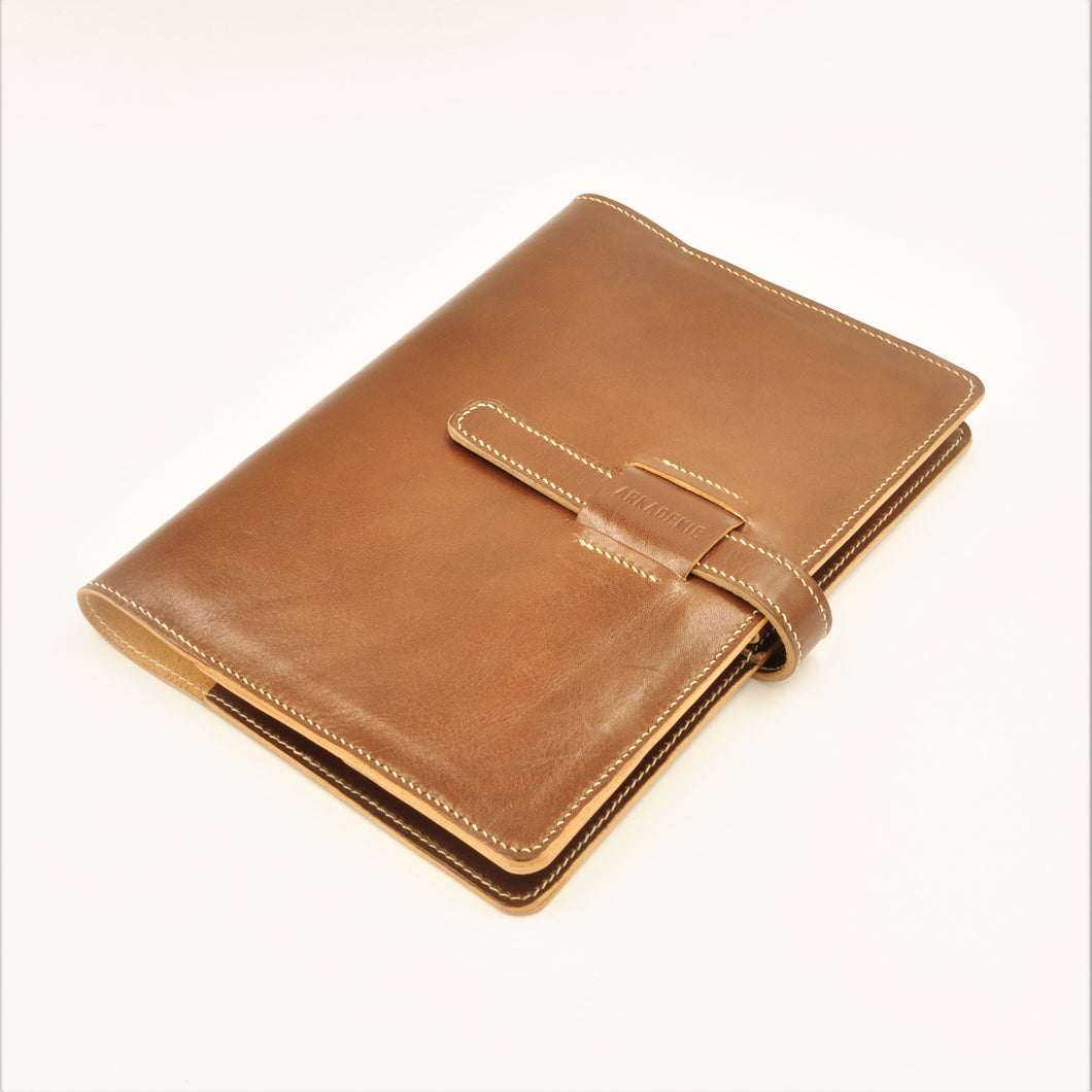 HERITAGE A5-P Bespoke Leather Notebook Case