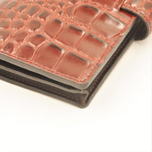 ARKADEMIE Bespoke Faux Alligator Leather Mobile Phone Sleeve