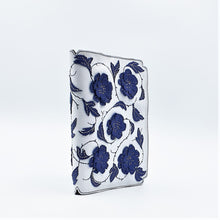 Studio Arkademie MING TEN PEONIES A5 Portrait Notebook Sleeve, Blue & White