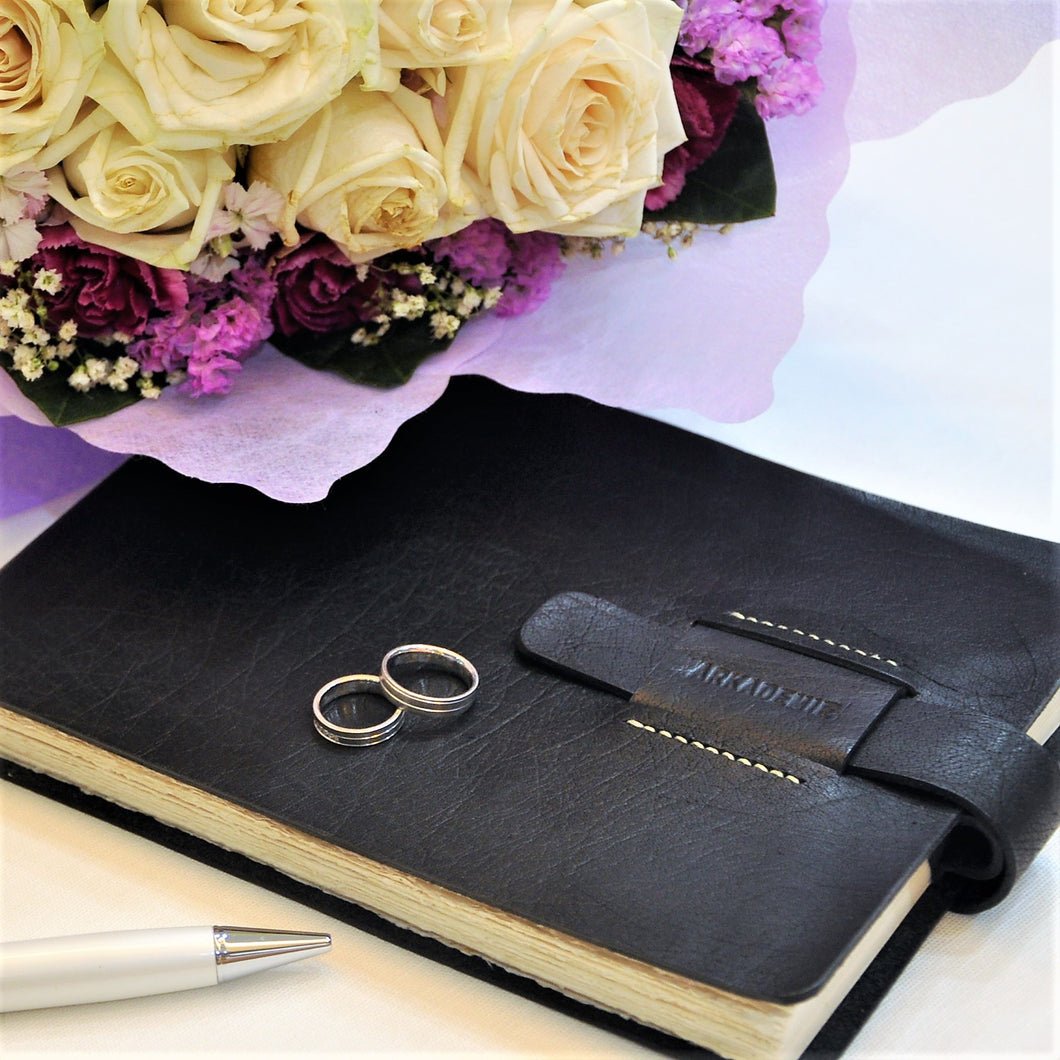 HERITAGE A4-L Leather Wedding Album