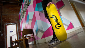 Donut OG Yellow Skate Deck