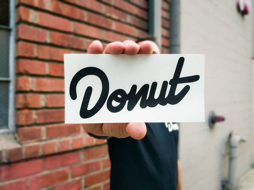 Donut Sticker - 6""