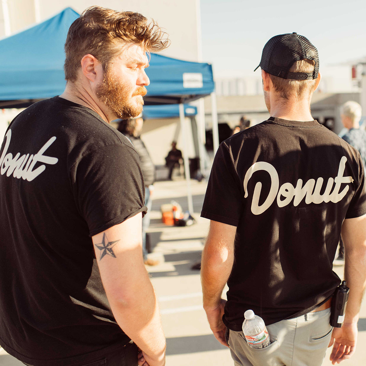 Donut T-shirt (Black)