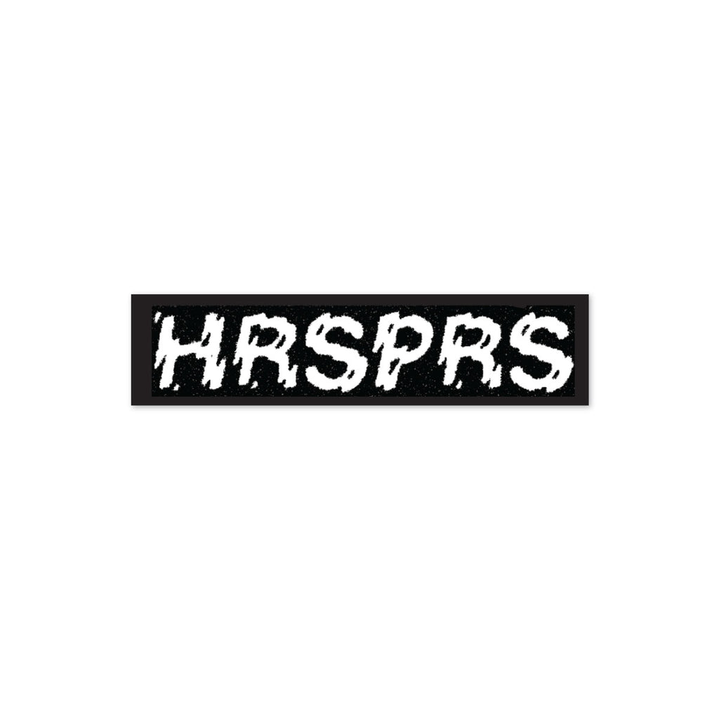 STICKER HRSPRS BUMPER