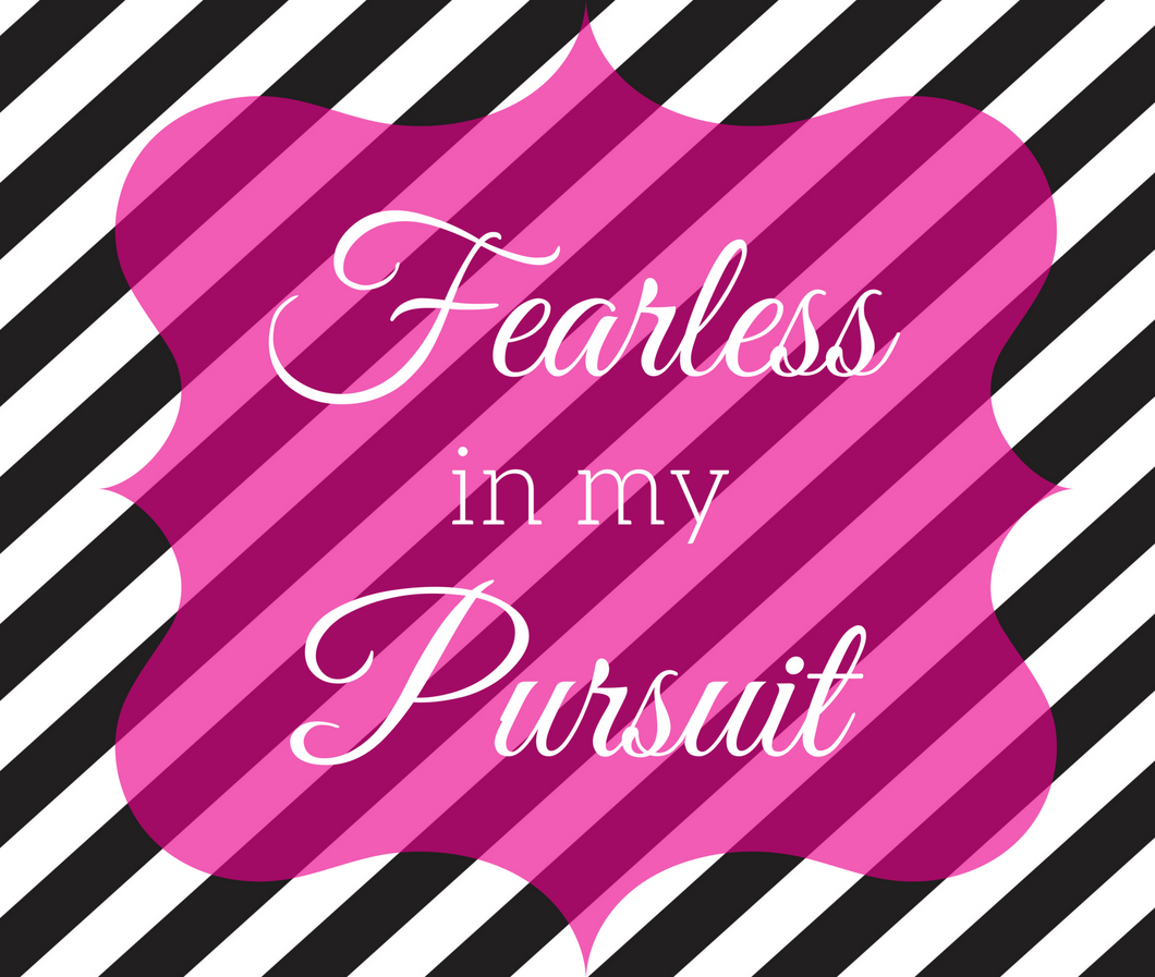 Mouse pad (Fearless in my Pursuit) - Shee Design Studio
