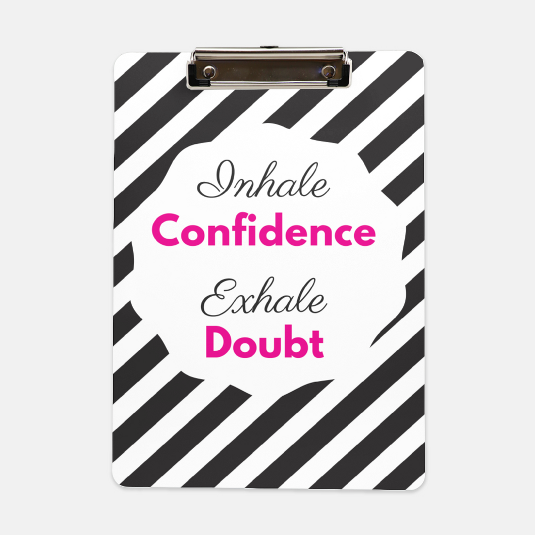 Confidence Clipboard - Shee Design Studio