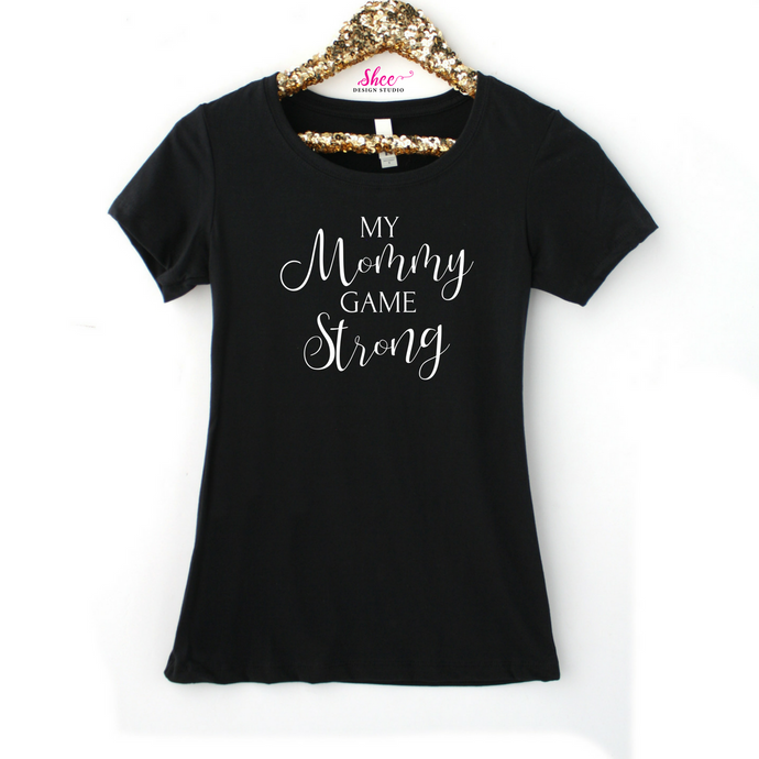 Mommy game tee - Shee Design Studio