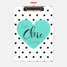 Get Chic Done Clipboard (Heart) - Shee Design Studio