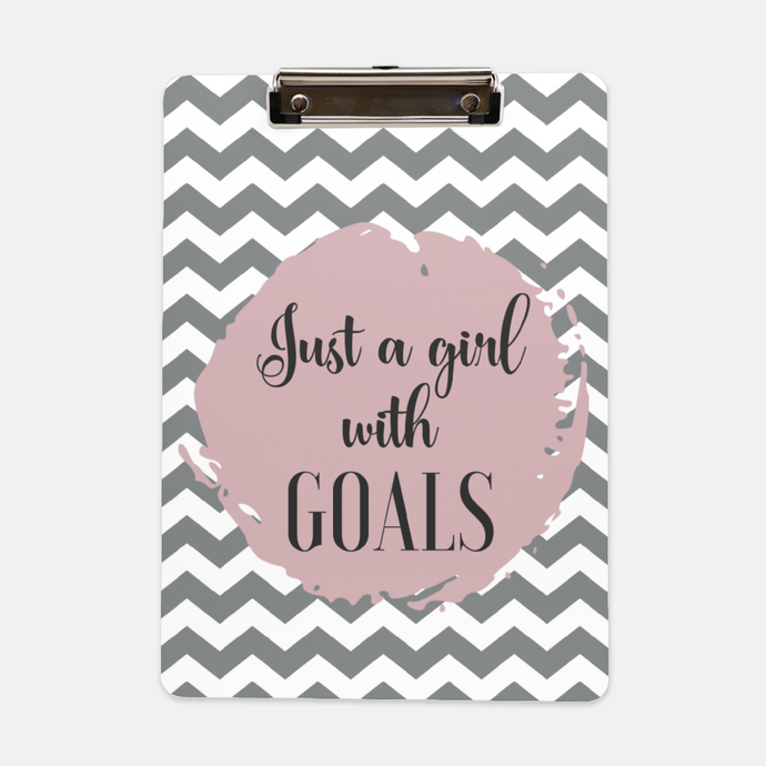 Girl with Goals Clipboard - Shee Design Studio