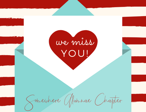 We Miss You Card (Diva) - Shee Design Studio