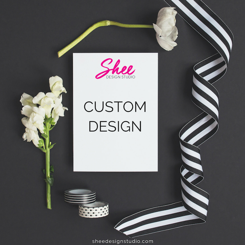 Custom Greeting Card Bundle - Shee Design Studio