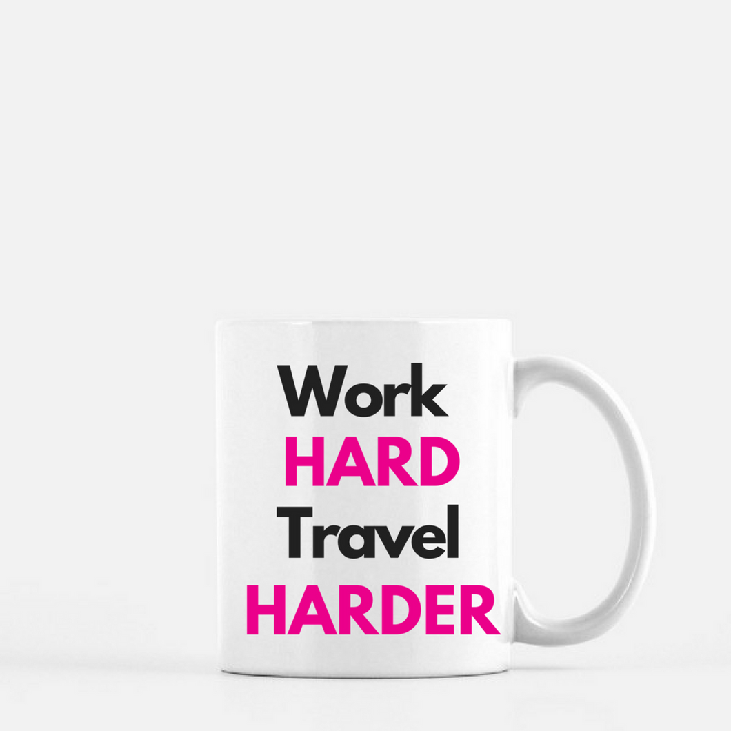 Mug (Travel Harder) - Shee Design Studio