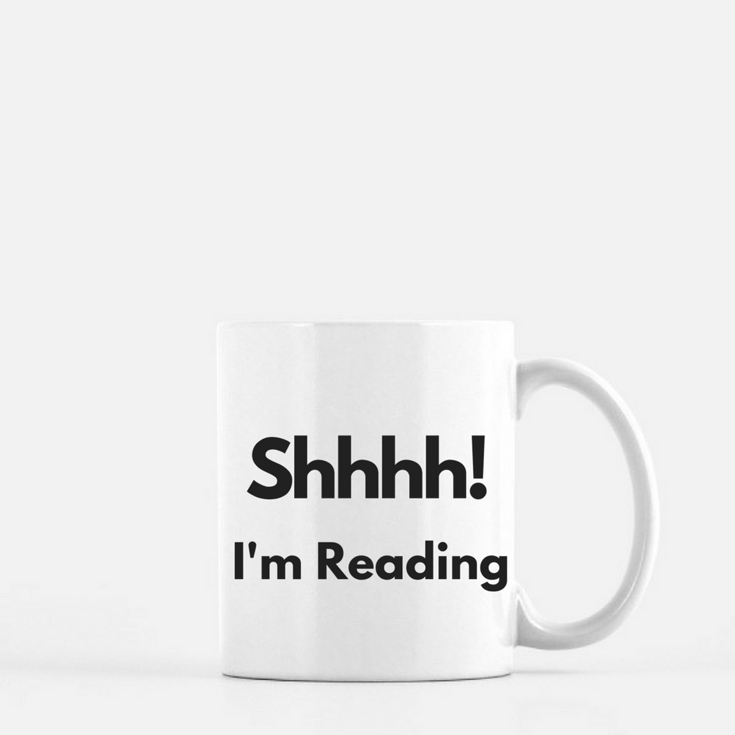 Mug (Reading) - Shee Design Studio