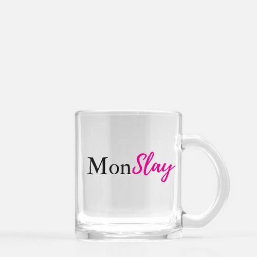 Glass mug (MonSlay) - Shee Design Studio