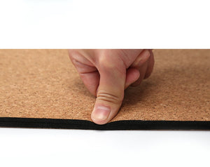 Natural Cork TPE Body Line Mat