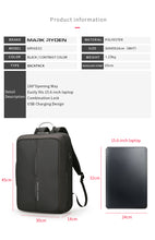 Backpack USB&TSI lock 15 and 17 inch (2 colors)