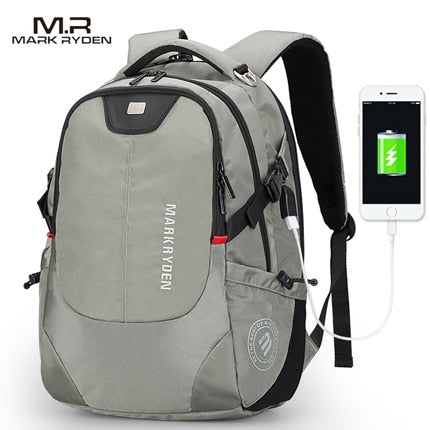 USB Charging 15inch Laptop Backpacks (3 colors)