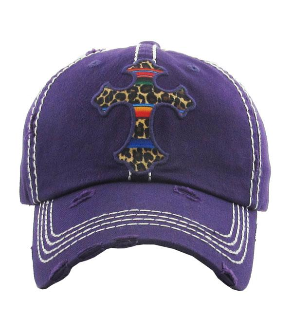 Serape Cross Ball Cap