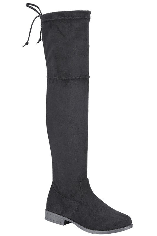 Suede Thigh High Boot