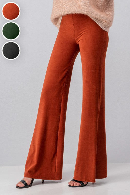 High Waisted Corduroy Bell Bottoms