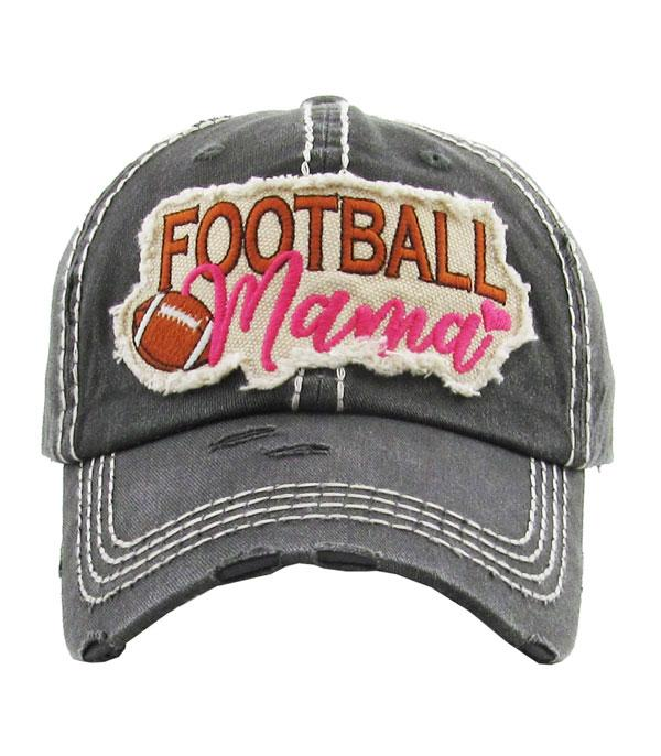 Football Mama Ball Cap