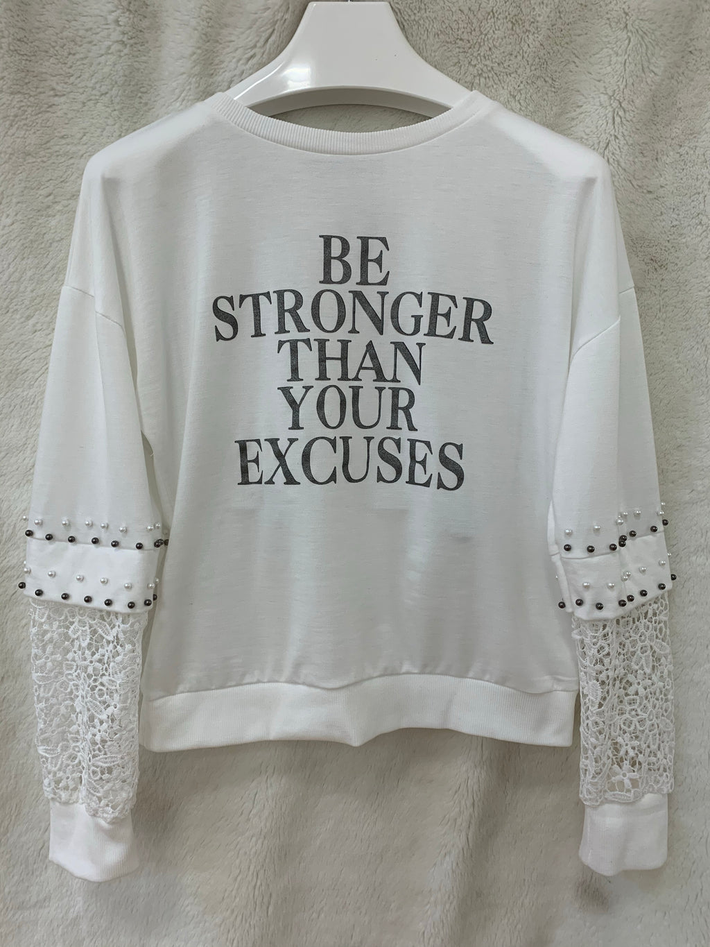 Stronger Than Your Excuses Top