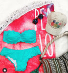 Scalloped Detail Bikini