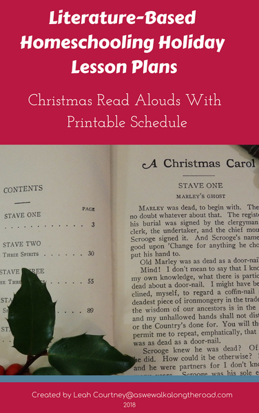 Literature-Based Homeschooling Holiday Lesson Plans