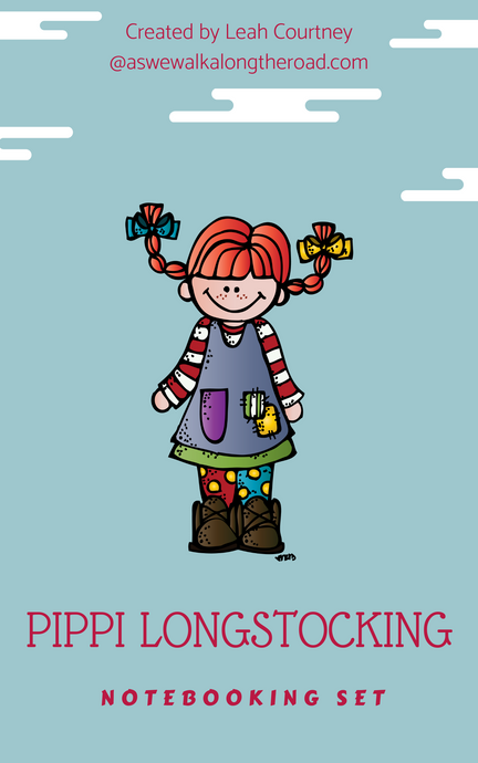 Pippi Longstocking Notebooking Set