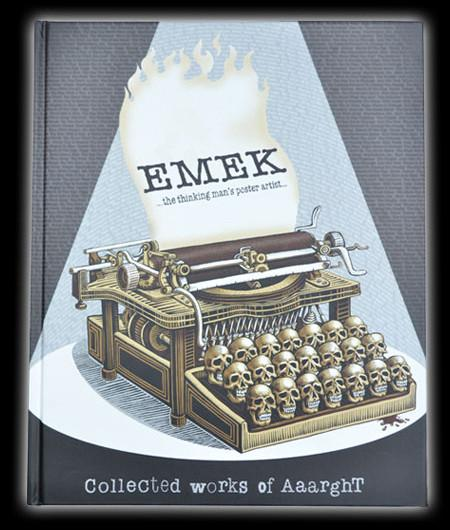 Emek Collected Works of Aaarght : Book (Signed and Doodled)