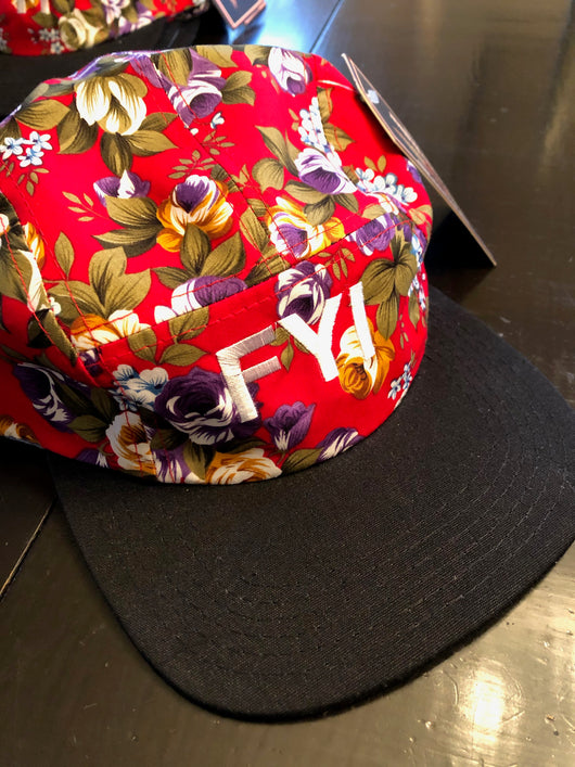 Fun Floral Painters Hats
