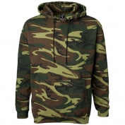 Camo Hoddie  and tee with 02048 Mansfield logo