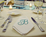 12 Personalized Dinner Napkins