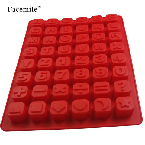 Awesome 1pc Alphabet Silicone Kitchen Mold