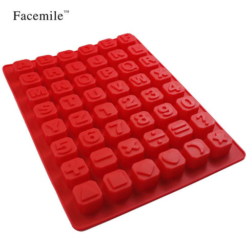 1pc Alphabet Silicone Kitchen Mold Bakeware