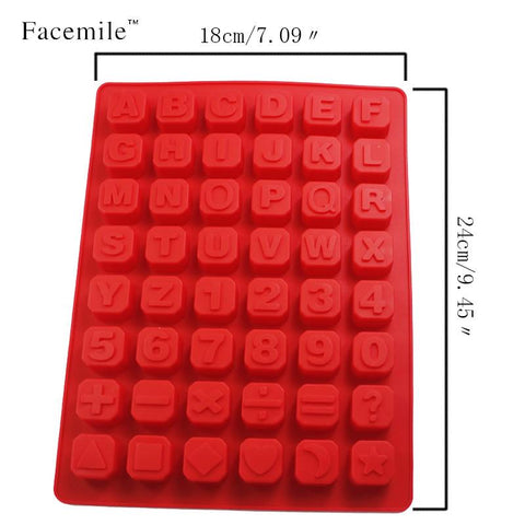 1pc Alphabet Silicone Kitchen Mold Kitchenware