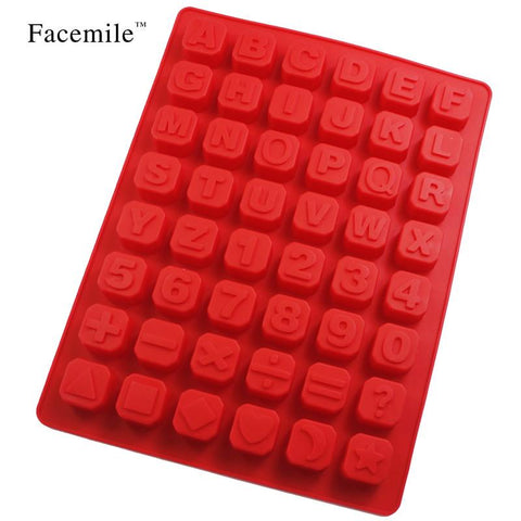 Affordable 1pc Alphabet Silicone Kitchen Mold