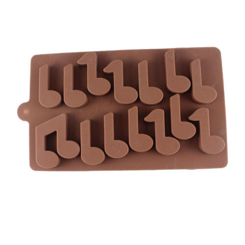 Musical Notes Shape Baking Mold Tool Kitchenware