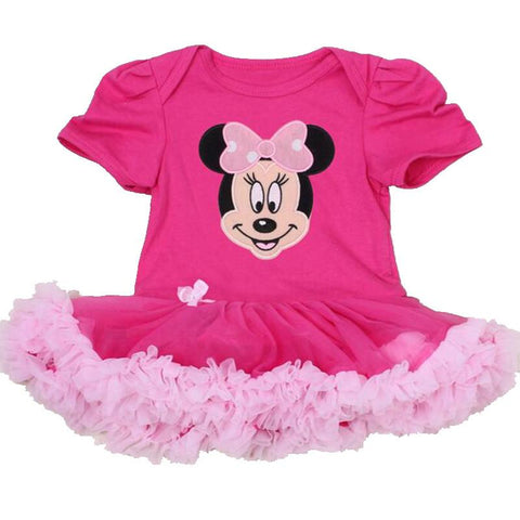 Hot Pink Minnie Infant Clothing