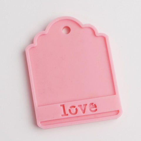 Lovely Wedding Tag Card Molder Kitchen Tool