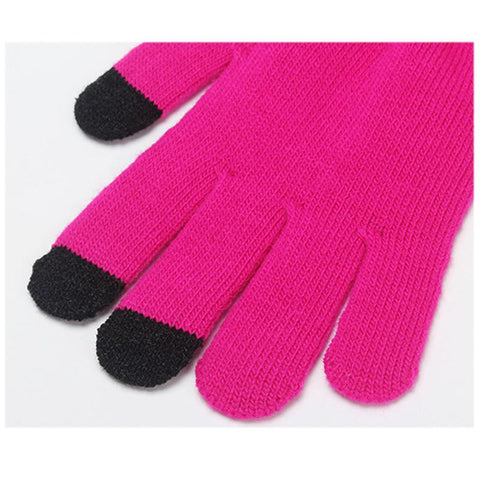 Colorful Touch Screen Winter Gloves