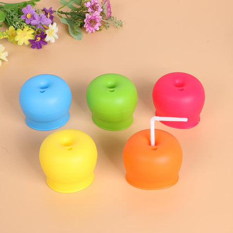 Reusable Silicone Stretchable Leak proof Cup for Kids