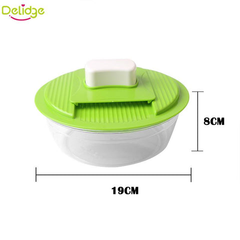 Affordable 5 in 1 Multifunctional Vegetable Grater and Crusher