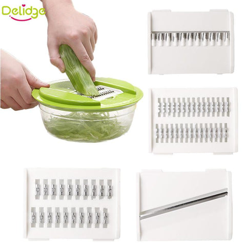 Cool 5 in 1 Multifunctional Vegetable Grater and Crusher