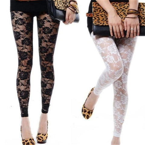 Fashion Lace Leggings