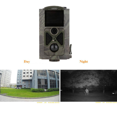 Motion Triggered Trail Camera 16MP 1080p LCD Display