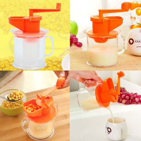 Multifunctional Fruit Juicer and Squeezer Kitchen Tool